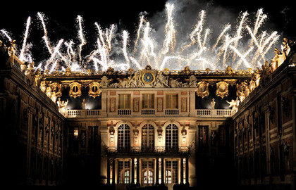 Night Show in Palace of Versailles