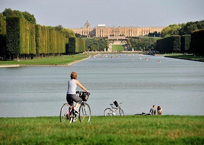 Bicycle in Palace of Versailles