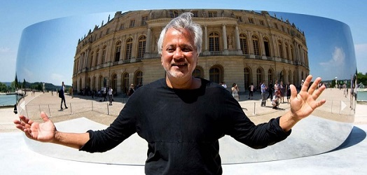 Anish Kapoor in Palace of Versailles