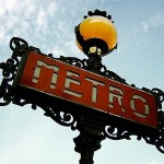 Old Metro Sign