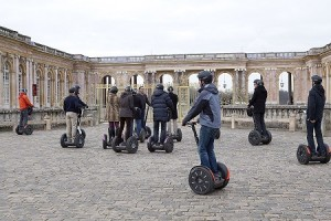 Segways in Palace of Versailles