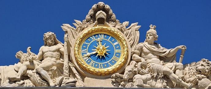 versailles' clock